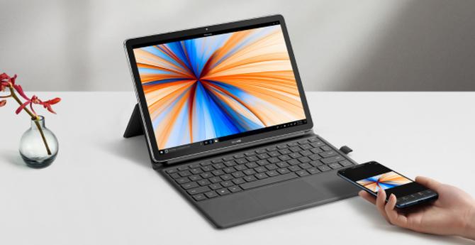华为MateBook E 2019:骁龙850 SoC+Windows 10